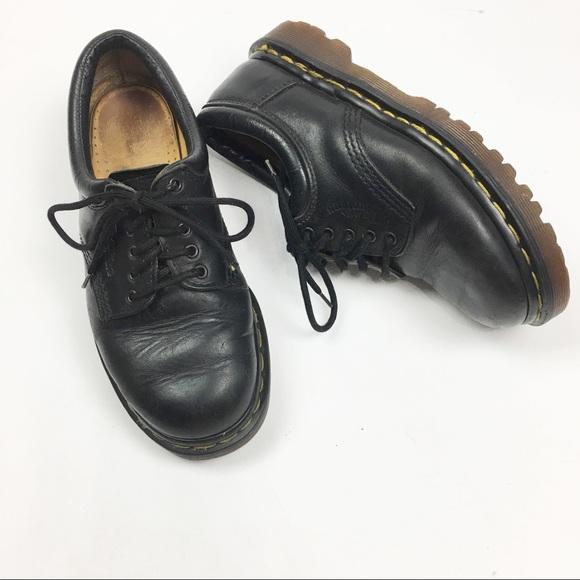 123e13e35d Dr. Martens Shoes | Dr Martens Dark Black Leather Oxford 758 | Poshmark
